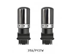 Светодиодные лампы поворота PY27-3014-MIR (3156) с зеркальным покрытием цвет рыжий
