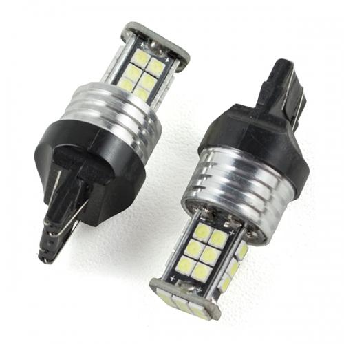 LED лампа (W21/5W) T20-5-SMD3030-24 цвет белый