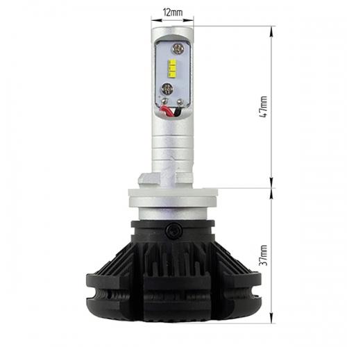 LED лампы LX ZES X3 PLATINUM цоколь H27