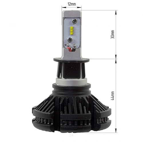 LED лампы LX ZES X3 PLATINUM цоколь H3
