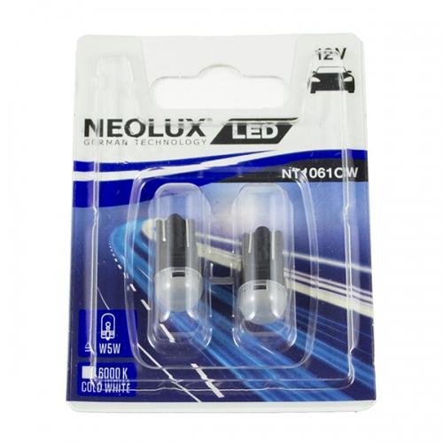 Я LED лампы Neolux LED W5W 6000K