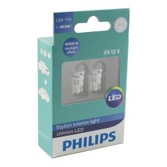 Светодиодные лампы Philips UltinonLED T10 W5W 4000K