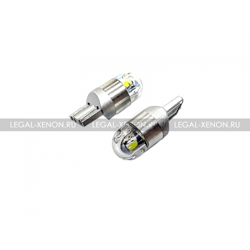 я LED лампа (W5W) T10-SMD-3030-2