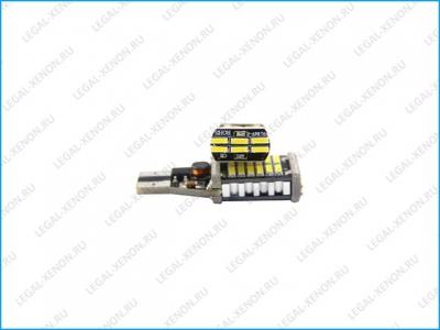 Светодиодная лампа (W16W) T15-SMD4014-30