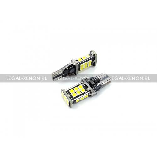 я Светодиодная лампа (W16W) T15-SMD3030-24