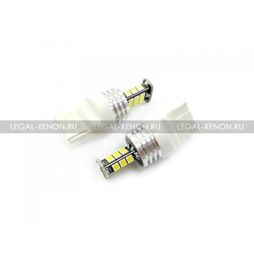 я LED лампа (W21W) T20-SMD3030-24