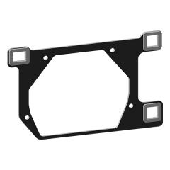 Переходные рамки для Opel Antara рест. (2010-2017) для BI-LED Hella 3R / 5R №195