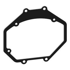 Переходные рамки для Subaru Legacy Outback 3 B13 дорест. (2003-2006) для BI-LED Hella 3R / 5R №40