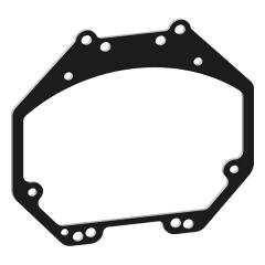 Переходные рамки для Nissan Patrol Y62 (2010-2020) для BI-LED Hella 3R / 5R №50