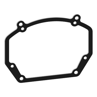 Переходные рамки для Ford Kuga 2 рестайл галогеновые фары (2012-2016) для Hella 3R #76
