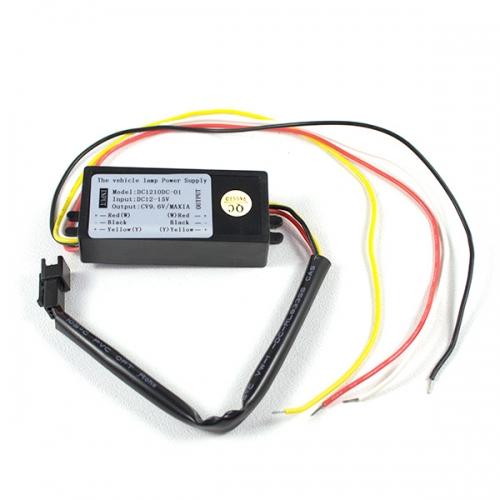 Драйвер для гибких секционных ДХО с повторителем поворота L8
