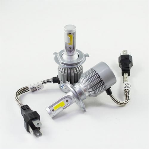 я Уценка! LED лампы LX COB LIGHT C6 цоколь H4