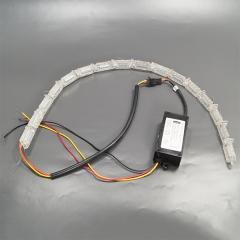 "Уценка! Гибкие ходовые огни LX DRL S8 Fast Bug с ""бегущим"" поворотом"