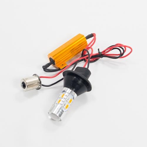 Уценка! Лампа поворота с обманкой PY21W