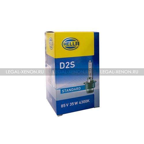 я Ксеноновая лампа Hella Standard D2S 4300K