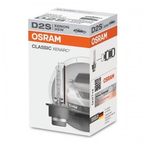 Ксеноновая лампа OSRAM Classic Xenarc D2S 4200K
