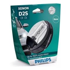 Ксеноновая лампа PHILIPS D2S X-tremeVision gen2 +150% (в пластике)