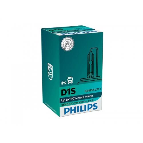 я Ксеноновая лампа PHILIPS D1S X-tremeVision gen2 +150% (в картоне)