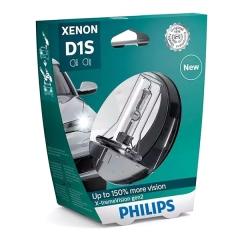Ксеноновая лампа PHILIPS D1S X-tremeVision gen2 +150% (в пластике)