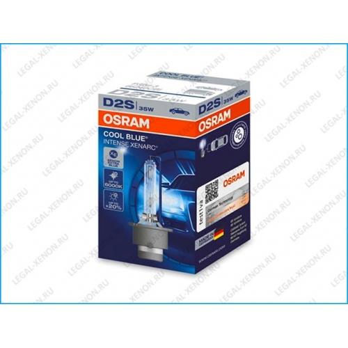я Ксеноновая лампа OSRAM Xenarc Cool Blue Intense D2S (66240CBI)