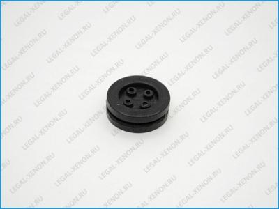 Резиновая пробка для монтажа проводки - 4 отверстия
