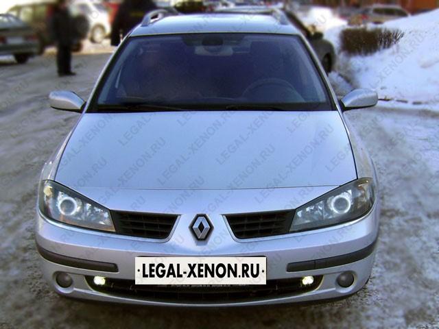 Установка линз в фары Рено Лагуна в Ростове-на-Дону