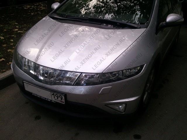 Установка линз в фары Хонда Цивик 5Д в Ростове-на-Дону