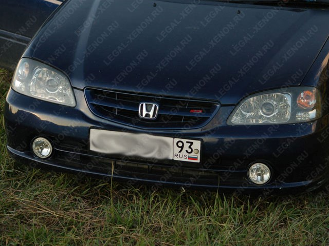 Установка линз в фары Хонда Ортия в Ростове-на-Дону