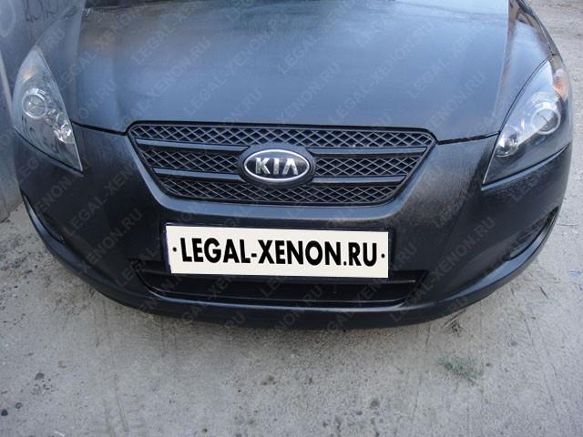 Установка линз в фары Киа Сид в Ростове-на-Дону
