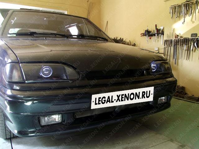 Установка линз в фары Лада 2114 в Ростове-на-Дону